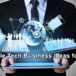 Profitable Tech Business Ideas for 2021
